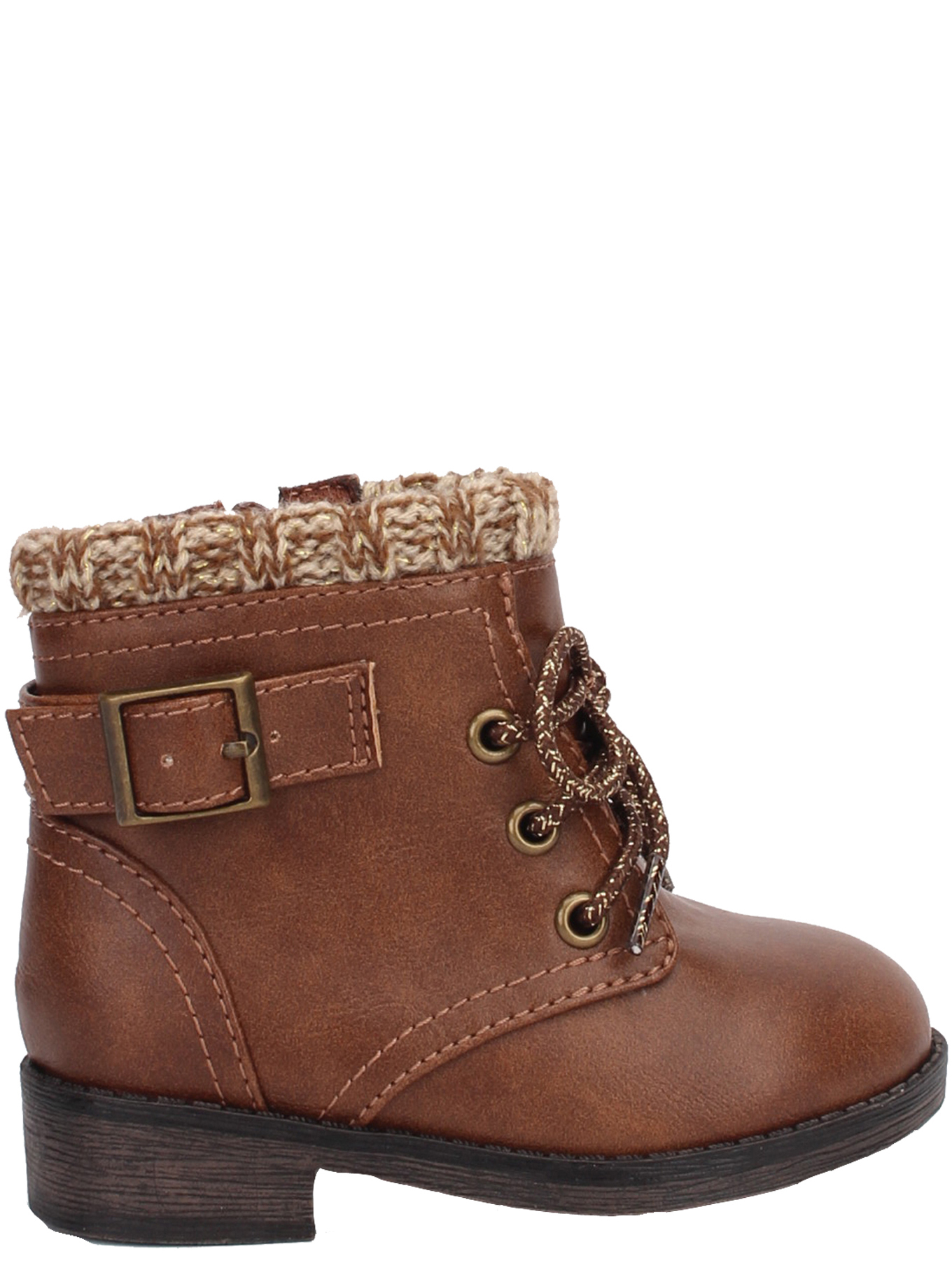 Wonder Nation Girls Brown Booties with Heart NEW