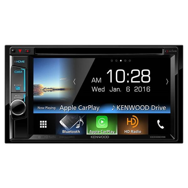 Kenwood DDX6903S AV Receiver with Apple CarPlay Bluetooth and HD Radio by Kenwood