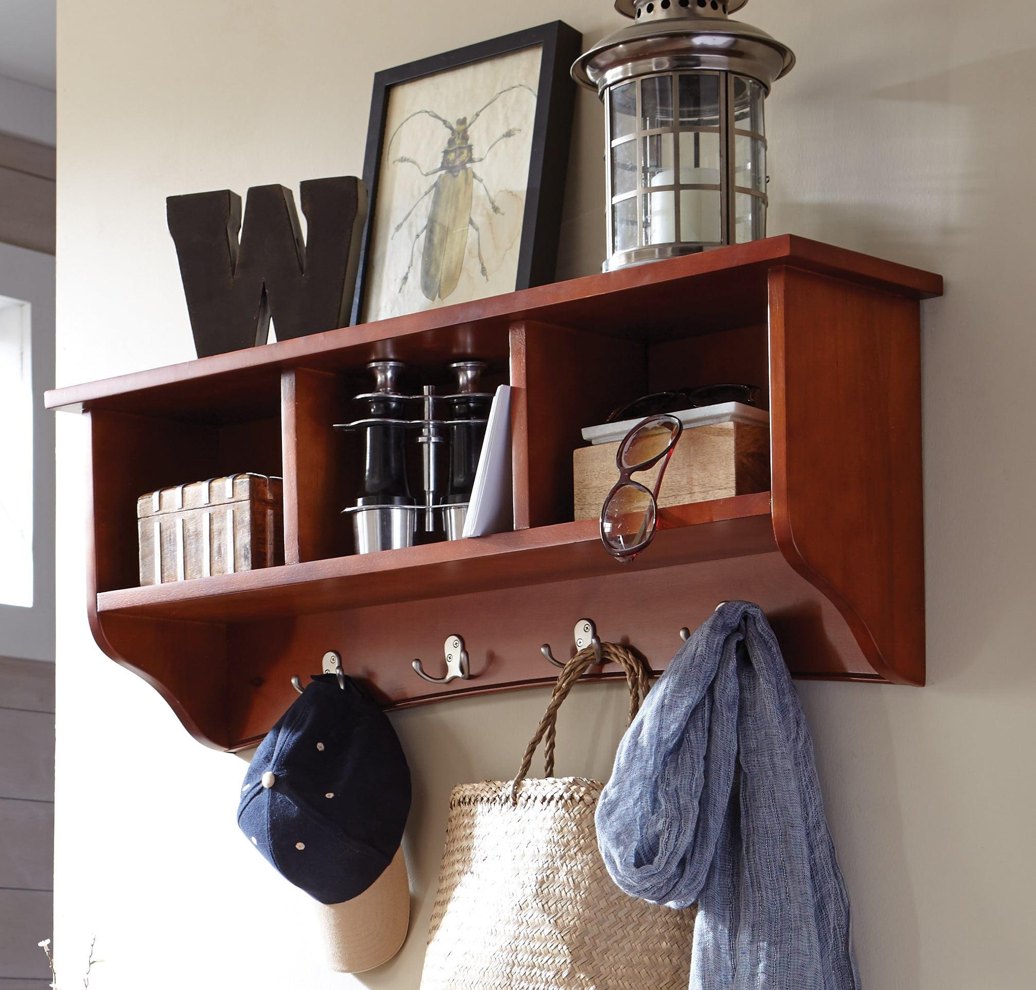 Alaterre Shaker Cottage Storage Coat Hooks