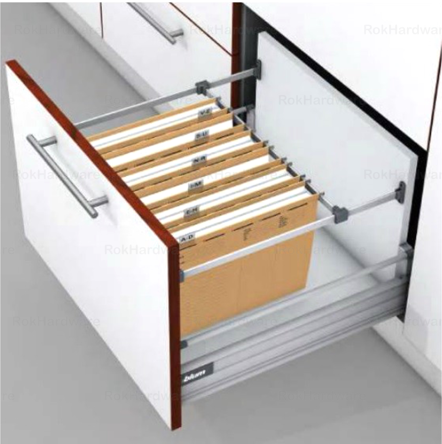 kitchen cabinets hanging system blum metafile kit for filing cabinet hanging system 20478