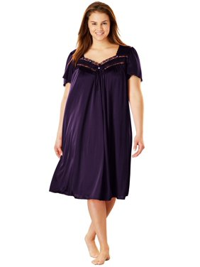 Plus Size Full-sweep Nightgown By Only Necessities