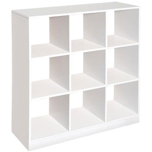 Badger Basket 9 Cubby Storage Unit White Walmart Com