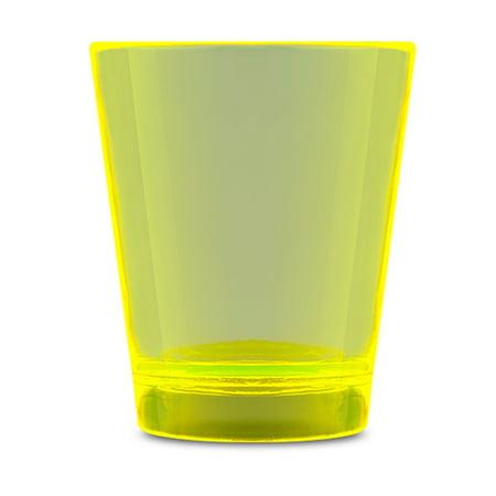 Glow In The Dark Shot Glass Yellow Glow Shot Glass