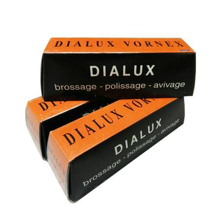 Dialux Orange Vornex Pre-Polish Tripoli Cutting Compound For Metals 3 Bars