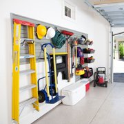 FLOW WALL FWS-4812-12SB13 Garage and Hardware Storage Sys,Silver