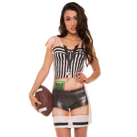 Womens Ladies Referee Dress, Multicolor - Small - Referee Dress