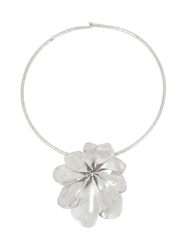 Femme Petal Flower Pendant Necklace