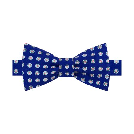 Tommy Hilfiger Mens Medallion Pre-Tied Bow Tie Reproduction Bow Tie