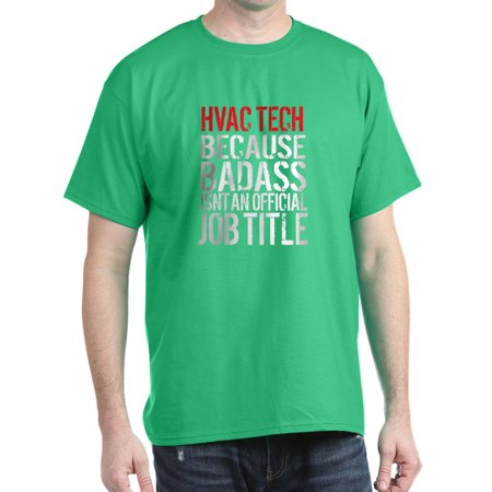 8874dc0b CafePress - CafePress - Badass HVAC Tech T-Shirt - 100% Cotton T-Shirt -  Walmart.com