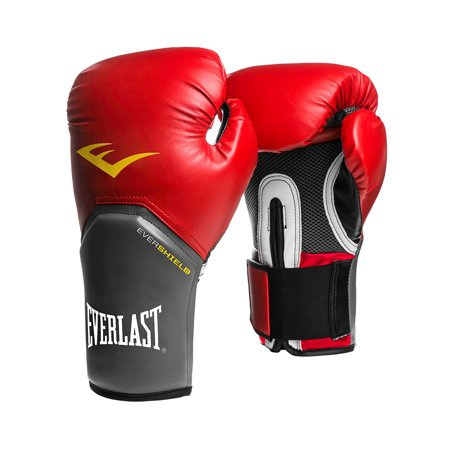 Everlast 16 Oz Pro Style Elite Cardio Kickboxing and Boxing Training Gloves, (8 Oz Vs 12 Oz Boxing Gloves)