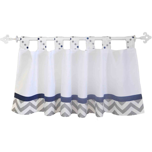 Out of the Blue Curtain Valance by My Baby Sam