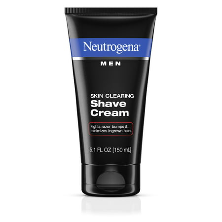 Neutrogena Men Skin Clearing Shave Cream, 5.1 fl.