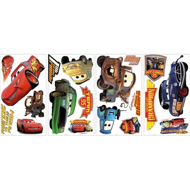 Roommate RMK1520SCS Cars Piston Cup Champions Wall Decals