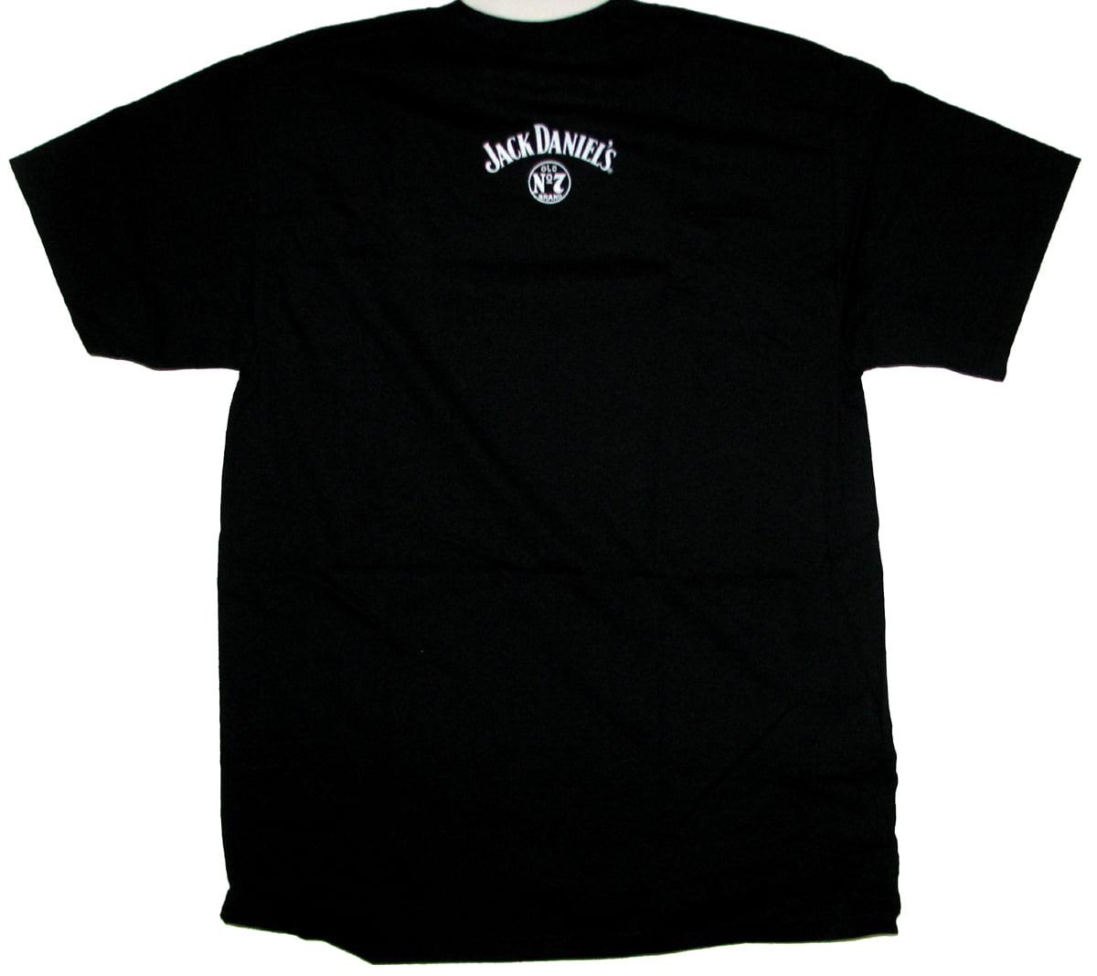 Jack Daniels Adult Male Old No.7 Brand Logo Medium Tank Top