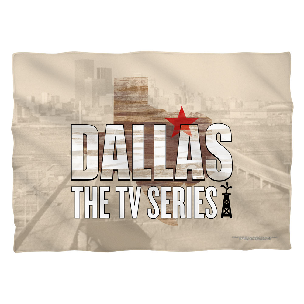 Dallas Logo Poly 20X28 Pillow Case White One Size