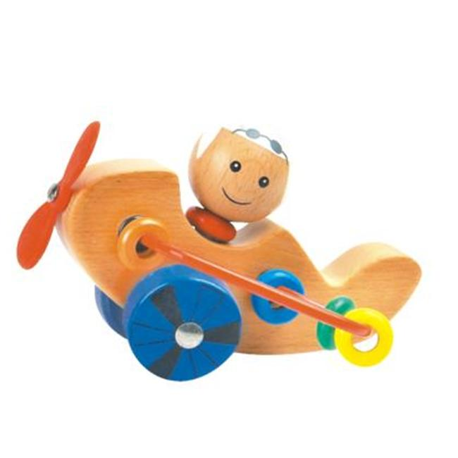 CHH 961682C Wooden Airplane