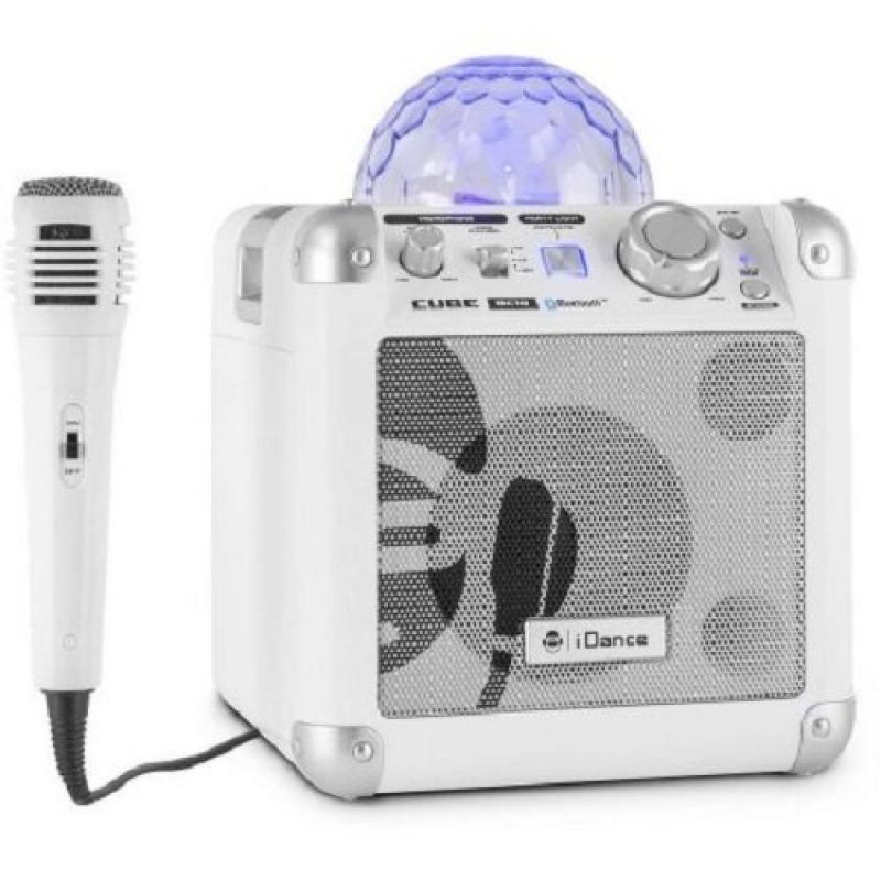 iDance Party Cube 50W Bluetooth Speaker (White)