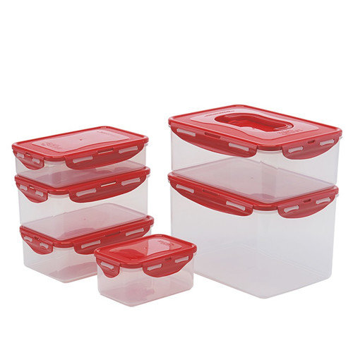 Lock & Lock 12-Piece Rectangle Food Storage Container Set