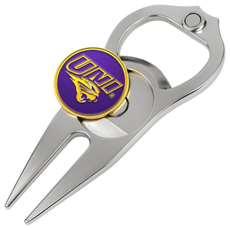 Northern Iowa Golf (Hat Trick Openers 6 In 1 Golf Divot Tool - Northern Iowa)