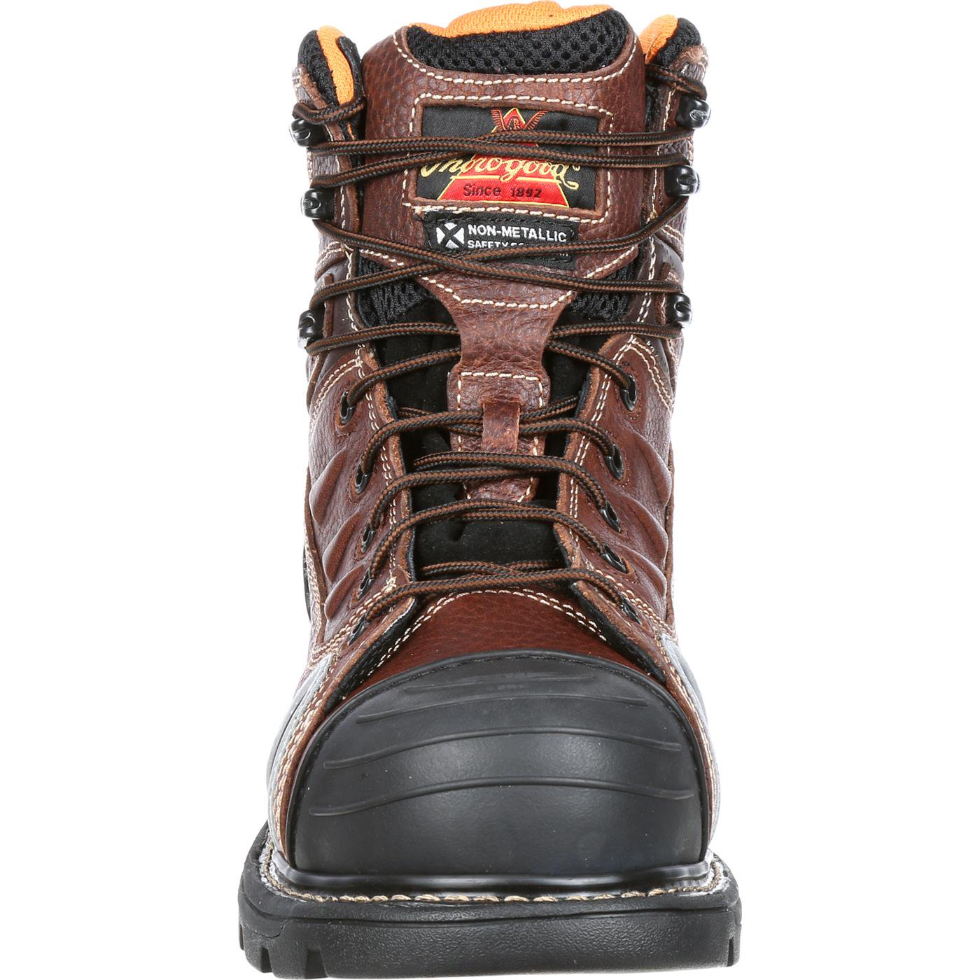 50f4a84aff5 Thorogood Composite Safety Toe Gen Flex 804-4445 6-Inch Work Boot, Brown,  13 M US