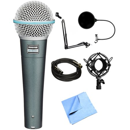 shure supercardioid dynamic microphone with high output neodymium element beta 58a with. Black Bedroom Furniture Sets. Home Design Ideas