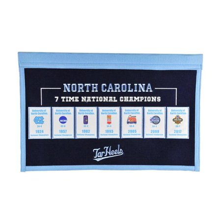 Winning Streak Sports 55103 North Carolina Rafter Raiser Banner - image 1 de 1