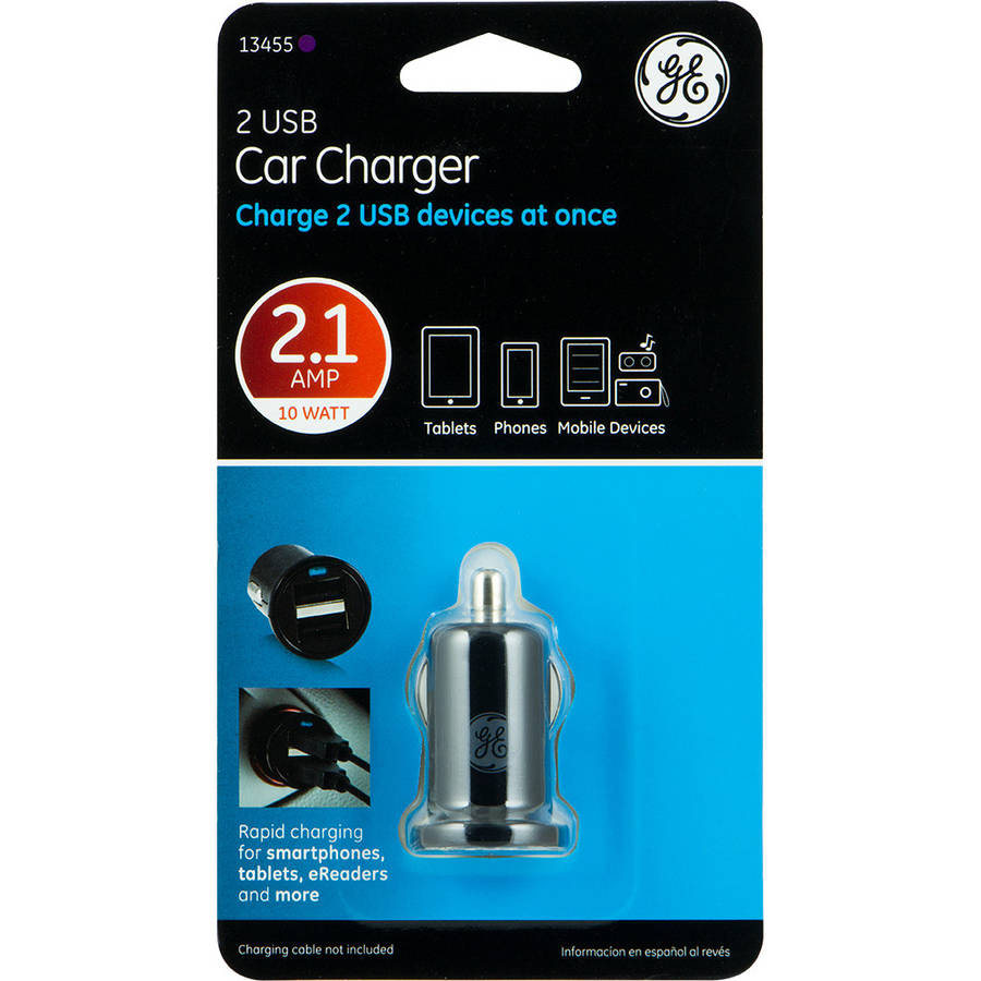 GE 2-USB Car Charger