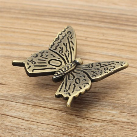 Euro Vintage Butterfly Cabinet Handles Kitchen Furniture Drawer Pull