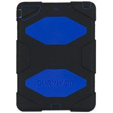 Apple IPad Air Griffin Survivor Case, Black, Blue (GB36403)