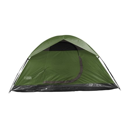 Heavy Duty Polyester - Heavy Duty Tent, Waterproof Polyester Fabric Family Tents Camping 4-person