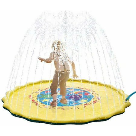 Splash Pad Splash Play Mat 67 Inflatable Sprinkler Pad