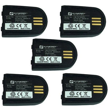 Plantronics 82742-01 Cordless Phone Combo-Pack includes: 5 x EM-CPP-547 Batteries Plantronics Cell Phone Battery