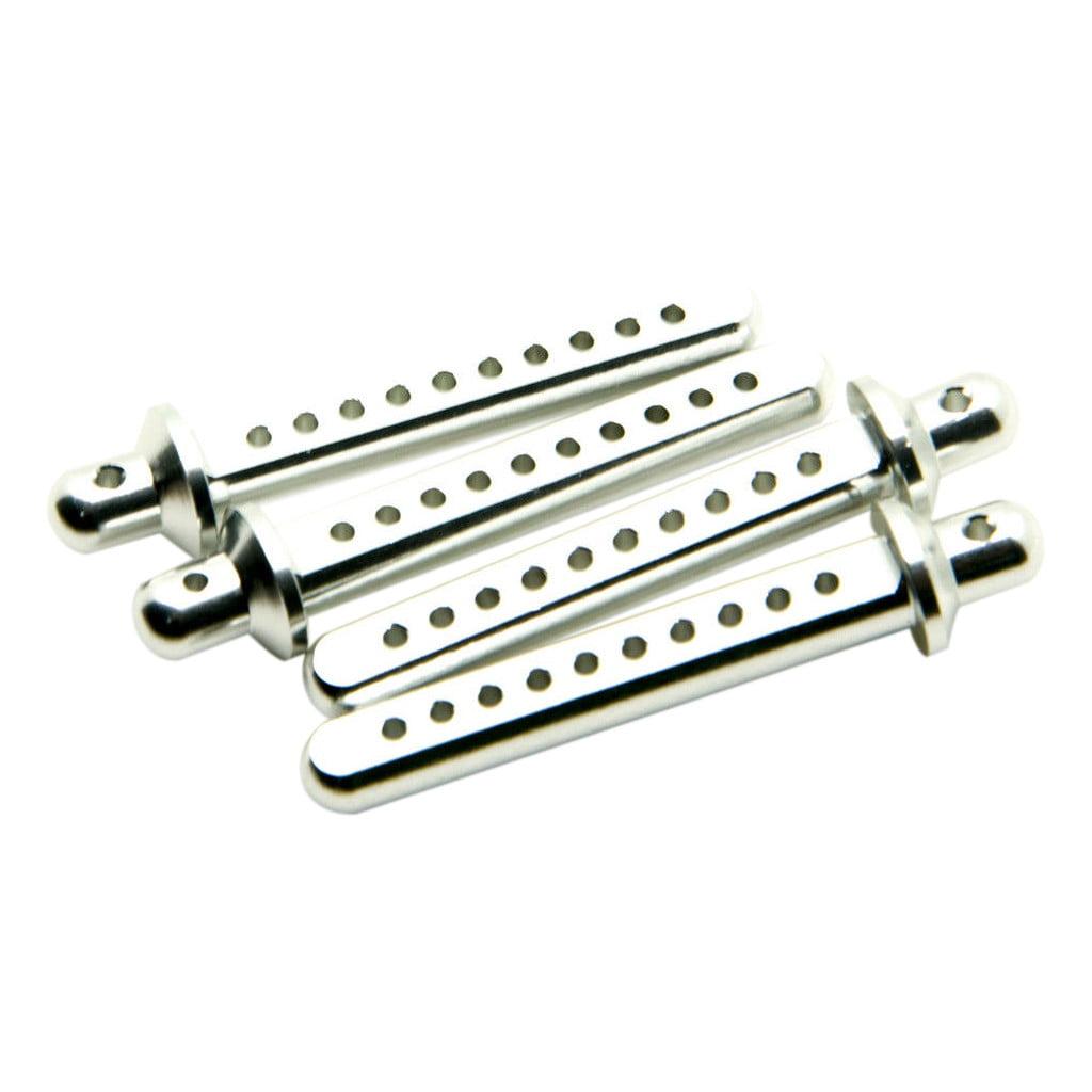 4X Aluminum RC Car Body Post Mounts For 1:10 Axial SCX10 90022 90027  RC Crawler