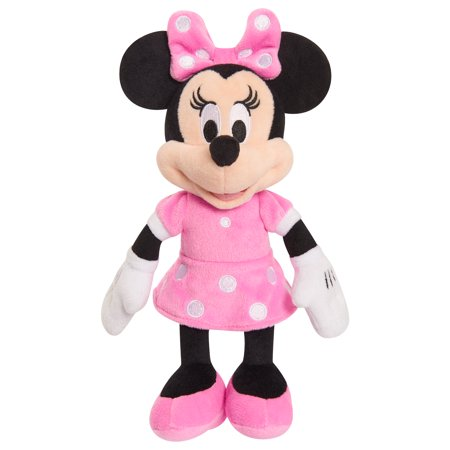 Minnie Mouse Bean Plush - Minnie in Pink Dress](Minnie Mouse Hands)