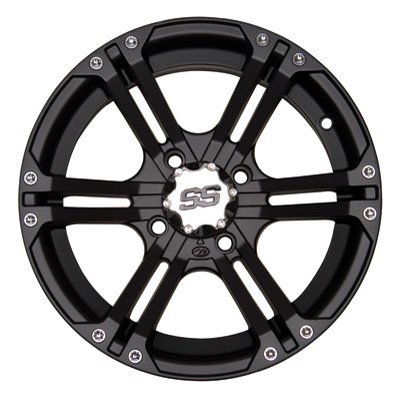 ITP SS212 Black ATV Wheel Front 14x6 4/156 - (4+2) [14SS403] (Itp Wheels Atv)