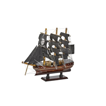 Wooden Pirate Ship Model 10
