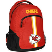 Forever Collectibles NFL Kansas City Chiefs  Action Stripe Logo Backpack