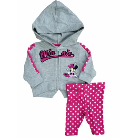 01ccdda3280e Minnie Mouse - Disney Minnie Mouse Infant Girls Hoodie Jacket ...