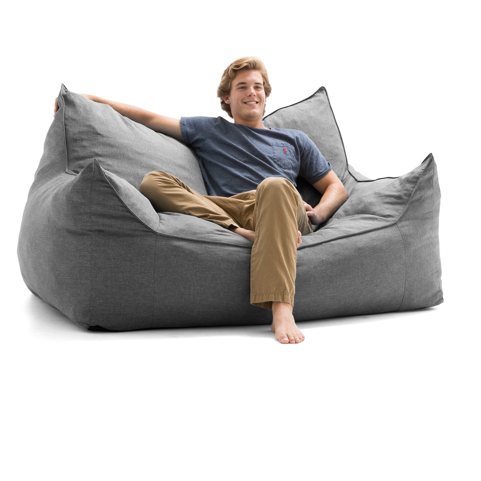 big joe bean bag Lux by Big Joe Imperial Fufton Union Bean Bag   Walmart.com big joe bean bag