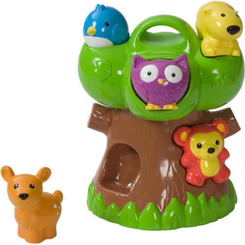 Infantino Squeeze & Teethe Forest Friends
