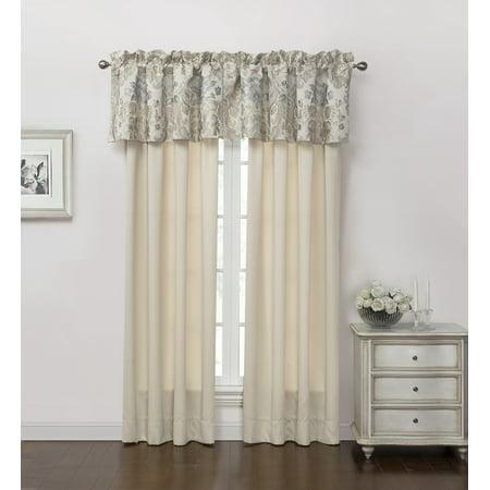 - Marquis by Waterford Warren Beige 50x84 Curtain Window Panels, Set of Two