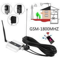 Willstar Durable Alloy LCD 900/1800Mhz GSM 2G/3G/4G Signal Booster Repeater Amplifier Antenna for Cell Phone US/UK/EU Plug