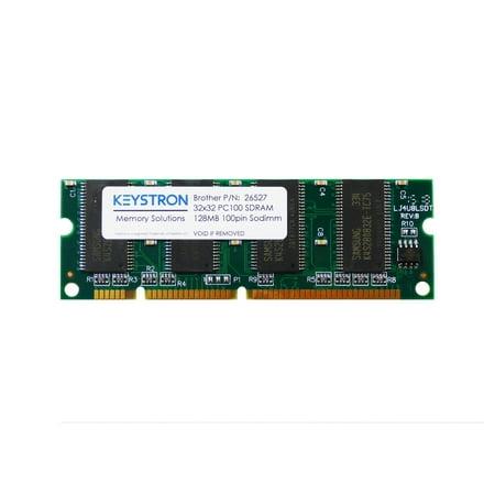 128MB 100pin PC100 SDRAM DIMM Printer Memory for Brother HL-5170DN, HL-5170 DNLT, HL-6050, HL-6050D, HL-6050DN, HL-6050 DW