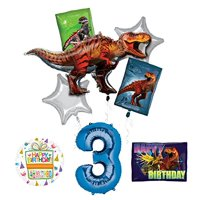 Product Image Mayflower Products Jurassic World Dinosaur 3rd Birthday Party Supplies And Balloon Decorations
