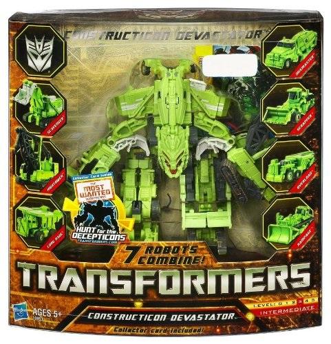 Transformers Hunt for the Decepticons Exclusive Action Figure Constructicon Devastator 7 Robots Combine by