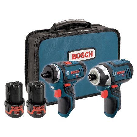 Bosch - CLPK27-120 - 12V Max Cordless Combination Kit, 12.0 Voltage, Number of Tools 2
