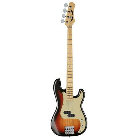 dean paramount m tsb paramount maple fb bass guitar, 3 tone sunburst Brass Sunburst Sunburst Collection