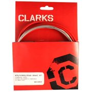 Clarks Cable Brake Kit F+R Ss Spt Rd/Mt Red