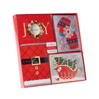 American Greetings 20-Count Bulk Assorted Christmas Boxed Cards and White Envelopes