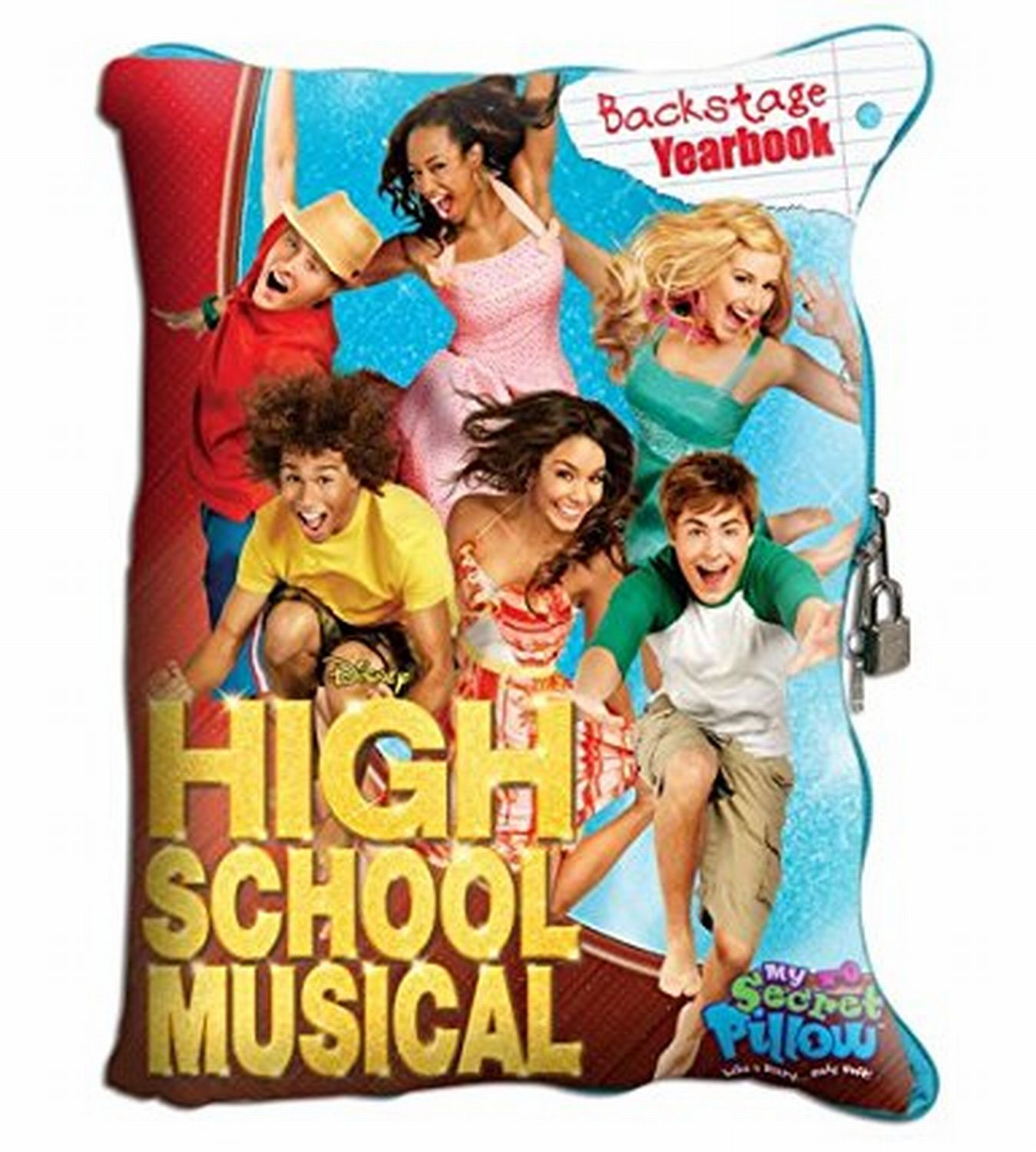 High School Musical My Secret Pillow Soft Journal Planner Diary & MP3 Speaker